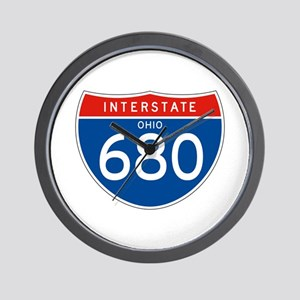 Interstate 680 - OH Wall Clock