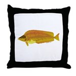 Kelp Greenling fish Throw Pillow