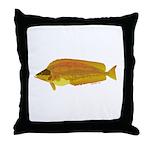Kelp Greenling fish Throw Pillow