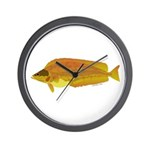 Kelp Greenling fish Wall Clock