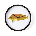 Kelp Greenling fish Wall Clock