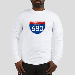 Interstate 680 - NE Long Sleeve T-Shirt