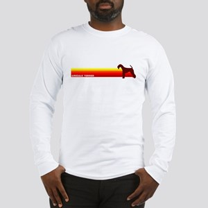"""""""Airedale Terrier Stripe"""" Long Sleeve T-Shirt"""