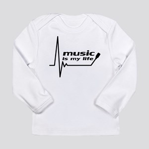 music_is_my_life Long Sleeve T-Shirt
