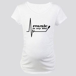 music_is_my_life Maternity T-Shirt