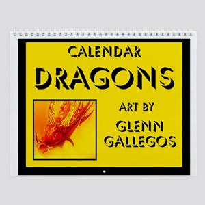 DRAGONS - Wall Calendar