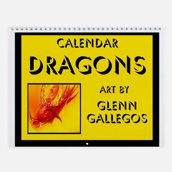 DRAGONS - Wall Calendar