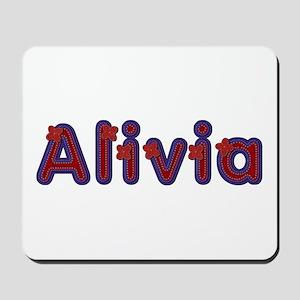 Alivia Red Caps Mousepad