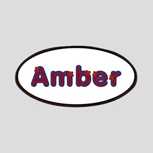 Amber Red Caps Patch