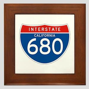 Interstate 680 - CA Framed Tile