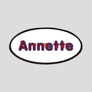 Annette Red Caps Patch