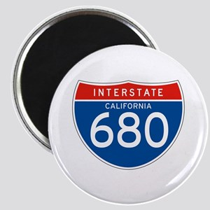 Interstate 680 - CA Magnet
