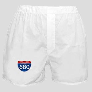 Interstate 680 - CA Boxer Shorts