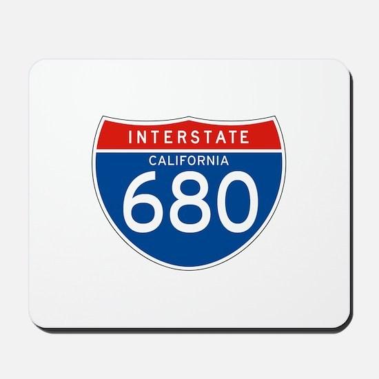 Interstate 680 - CA Mousepad