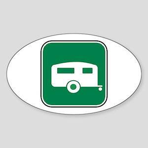 Trailer / RV Oval Sticker