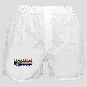 Property Of South Africa Boxer Shorts