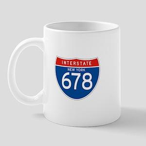 Interstate 678 - NY Mug
