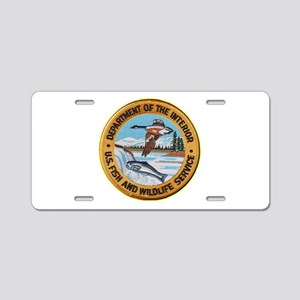 U S Fish Wildlife Service Aluminum License Plate