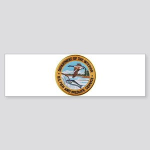 U S Fish Wildlife Service Bumper Sticker