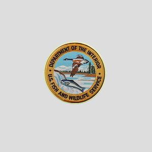 U S Fish Wildlife Service Mini Button