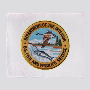 U S Fish Wildlife Service Throw Blanket