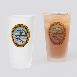 U S Fish Wildlife Service Drinking Glass