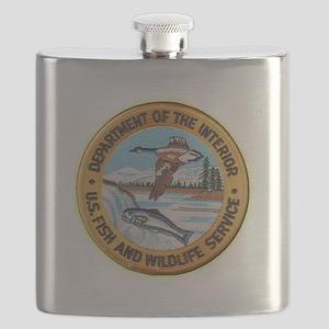 U S Fish Wildlife Service Flask