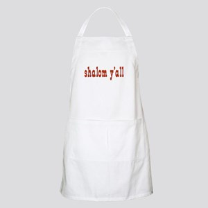 Greetings shalom y'all BBQ Apron