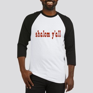Greetings shalom y'all Baseball Jersey