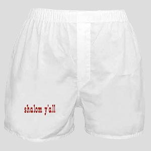 Greetings shalom y'all Boxer Shorts