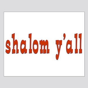 Greetings shalom y'all Small Poster