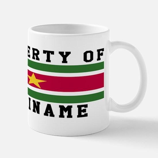 Property Of Suriname Mug