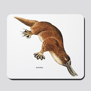 Platypus Animal Mousepad
