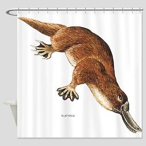 Platypus Animal Shower Curtain