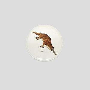 Platypus Animal Mini Button