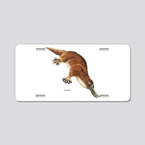 Platypus Animal Aluminum License Plate
