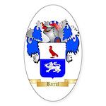 Barral Sticker (Oval 50 pk)