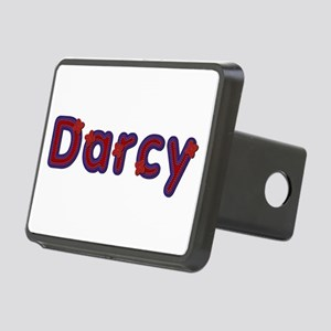 Darcy Red Caps Rectangular Hitch Cover