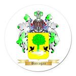 Barragan Round Car Magnet