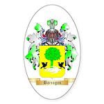 Barragan Sticker (Oval)