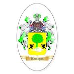 Barragan Sticker (Oval 50 pk)