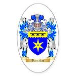 Barradas Sticker (Oval)