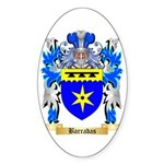 Barradas Sticker (Oval 50 pk)