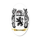 Barraclough Oval Car Magnet