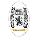 Barraclough Sticker (Oval 10 pk)