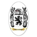 Barraclough Sticker (Oval 50 pk)
