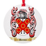 Baroux Round Ornament