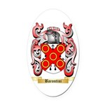 Barontini Oval Car Magnet