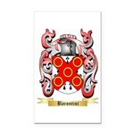 Barontini Rectangle Car Magnet