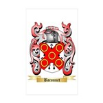 Baronnet Sticker (Rectangle 50 pk)